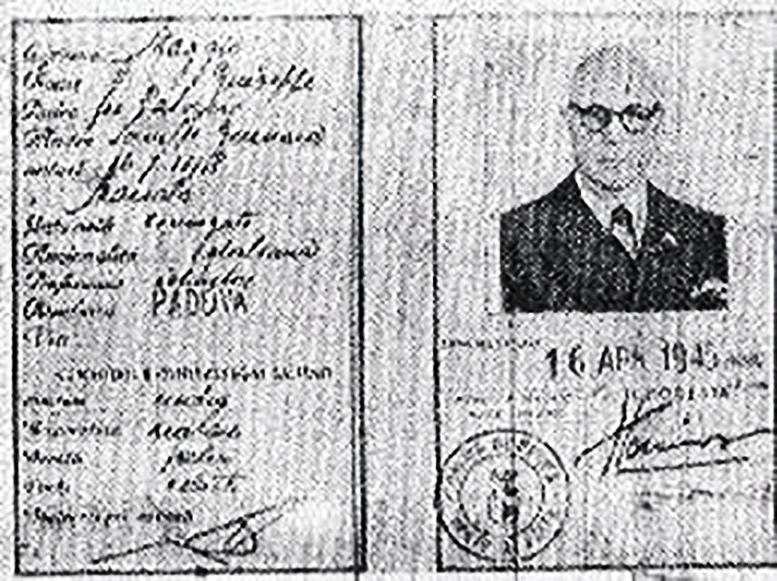 Sulle tracce dei fascisti in fuga: il caso Carlo Scorza