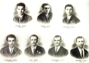 Furono trucidati in un\'alba nebbiosa, al poligono di Reggio Emilia, insieme alll\'ex repubblichino convertito all\'antifascismo Quarto Camurri, segnando l\'esordio stragista della neonata Repubblica di Salò.